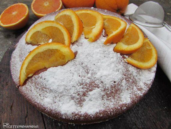 torta di arance senza latte e burro