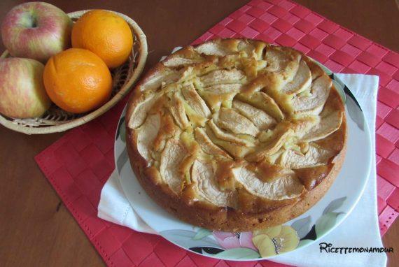 torta arance e mele