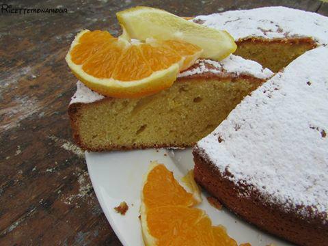 Torta al limone e arancia