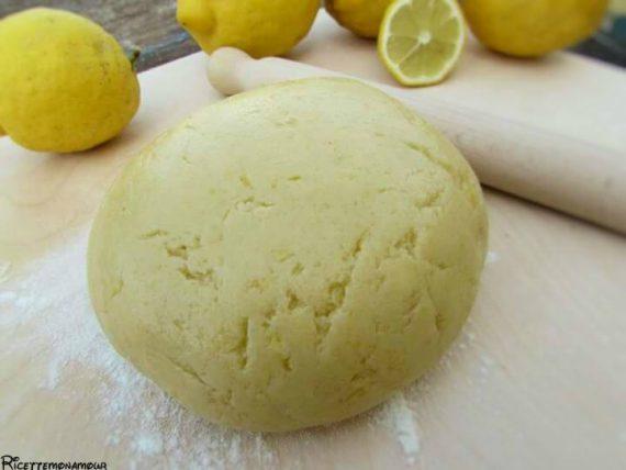 frolla al limone senza burro