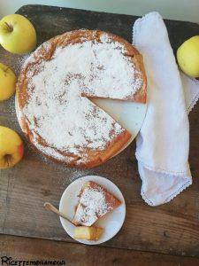 Torta di mele al cucchiaio